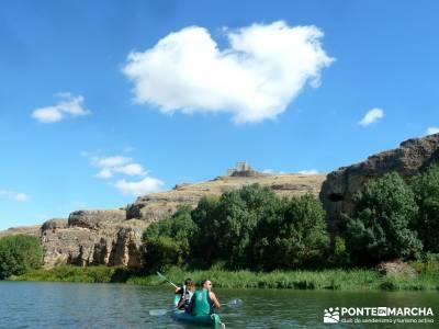 Piragüismo Hoces del Río Duratón;excursiones de montaña singles senderismo madrid excursiones de